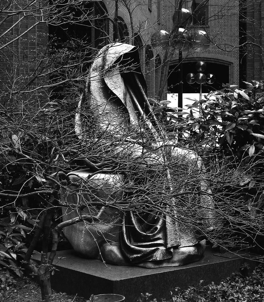 Black Aggie - Washington DC | This creepy statue that was ...