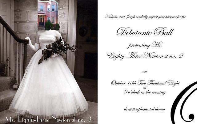 Debutante Ball Invitation josephbergen Flickr