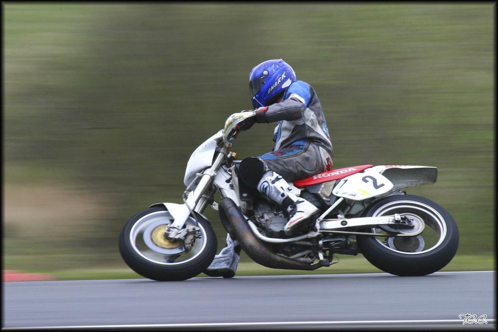 Moto Promosport Au Circuit Carole Honda Cr 500 Monobike Flickr