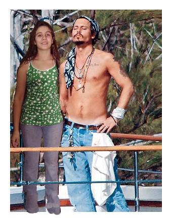 Mi hermana y Johnny De... Johnny Depp