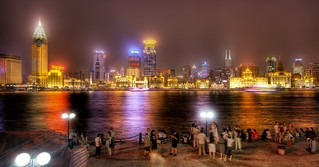 Admiring Shanghai from the Bund | by Stuck in Customs