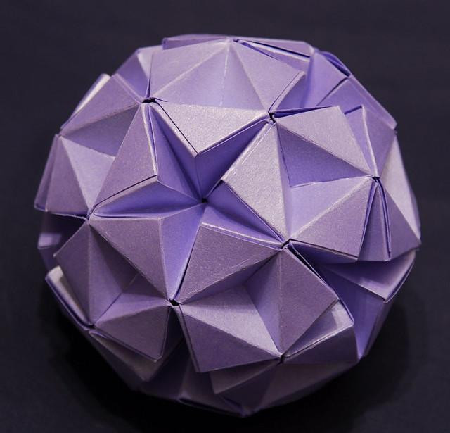 Sphere folded using heinz strobls knotology methods made flickr sphere by kim krt2 mightylinksfo