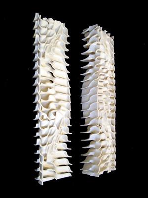 Tower Prototype Parametric Design By Am Pm By Junkai Jian Jinqi