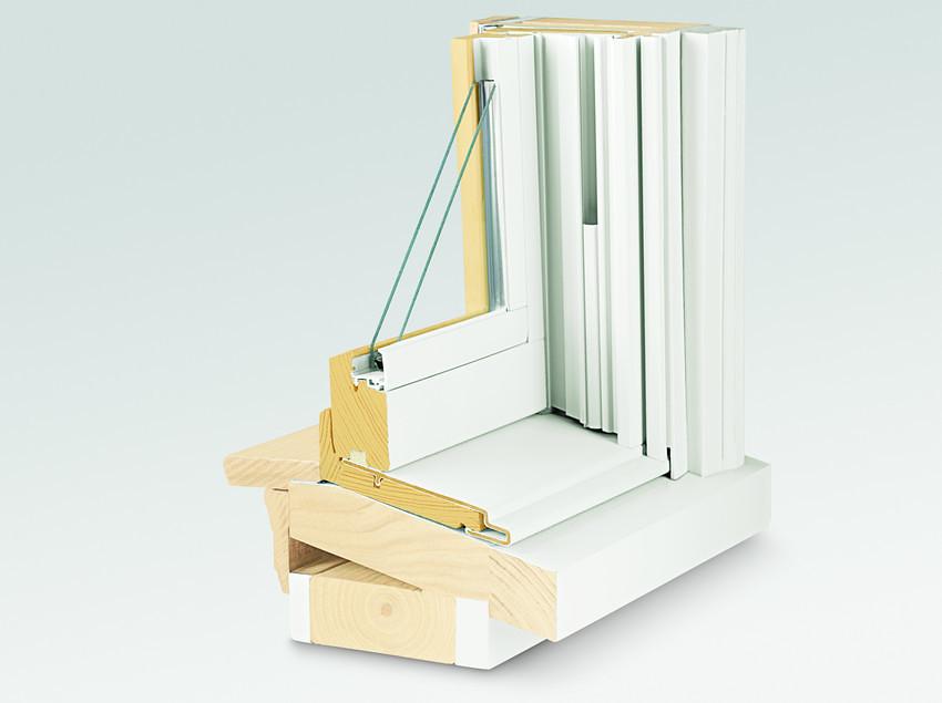 400 Series Tilt Wash Double Hung Insert Window 14 Degree