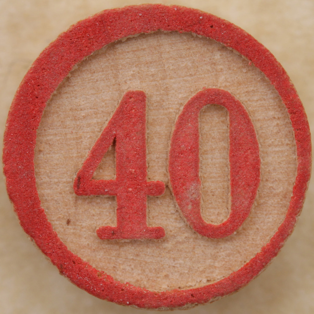 Число 40 и все что с ним связано