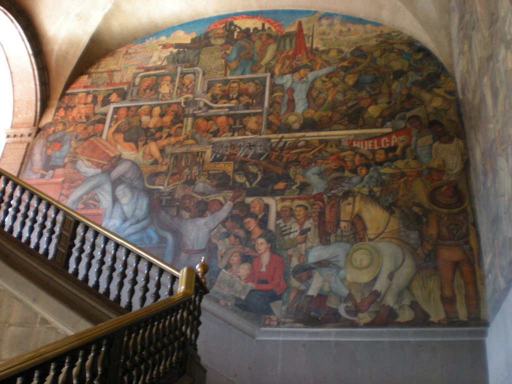 Palacio Nacional Mexico City Quot Historia De M 233 Xico De La