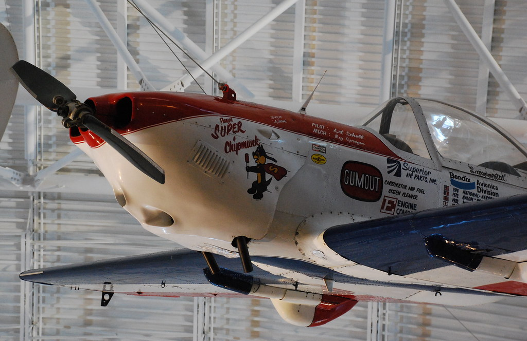 Super Chipmunk - De Havilland Canada DHC-1A Chipmunk ...