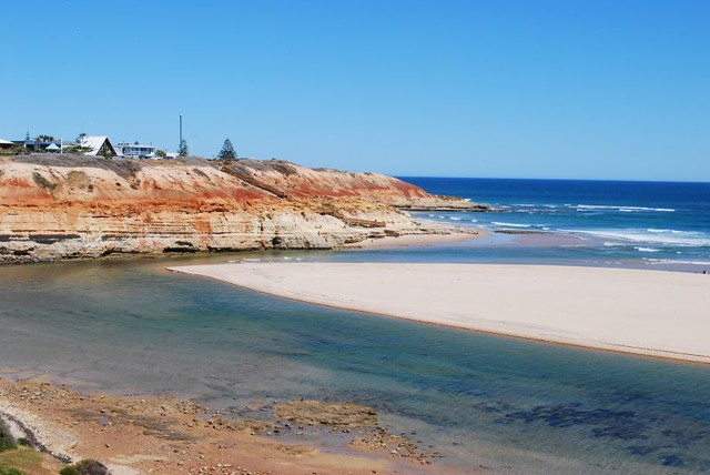 Port Noarlunga Australia  city images : Port Noarlunga Beach South Australia | The outlet of the Onk ...