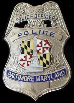 Baltimore City Police Officer Badge | cooder70 | Flickr