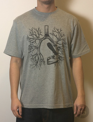 Staple Breathe Kicks Tee - Heather Grey | by RPS Life