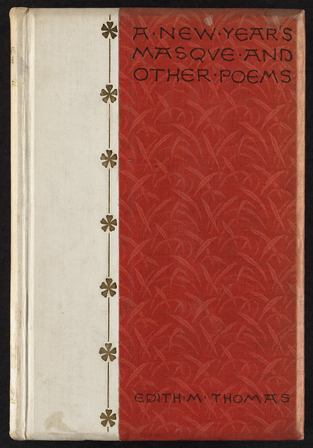 Poetry Book Cover Generator : A new year s masque and other poems front cover file