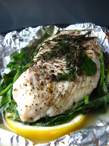 Lemon Thyme Tilapia Packets | by britton618