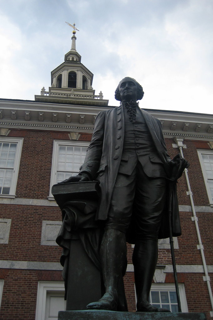 Philadelphia Old City Independence Hall George Washin