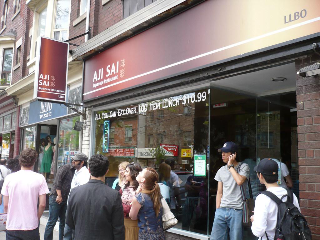 The line at aji sai aji sai is a relatively new japanese for Aji sai asian cuisine
