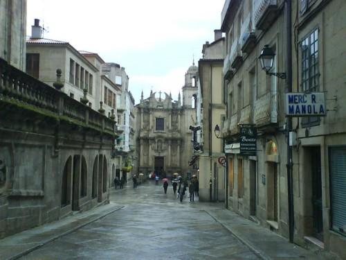 Calle de la catedral orense calle que nos lleva a la - Hm calle orense ...