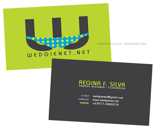 Tentative business card design double sided ive been a flickr tentative business card design double sided by wedgienet illustration reheart Choice Image