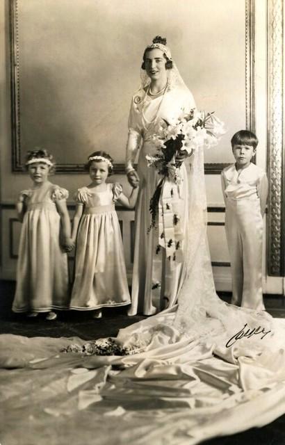 future queen ingrid of denmark as bride prinzessin ingrid