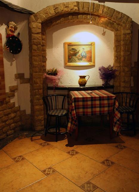 Amigo restaurant bar café in hohhot the interior design