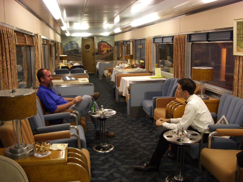 Train Chartering Private Rail Car Overland Trail Used Fo Flickr