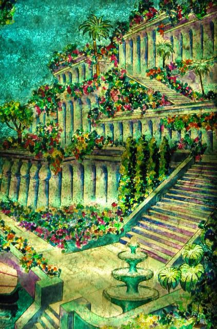 Jardines colgantes de babilonia jose armas aramburu for Jardines colgantes babilonia