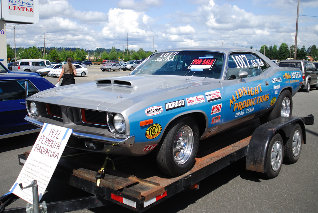 RJ Race Cars-Built '68 'Cuda Has 500-Inch Pro Stock Hemi ... |Cuda Stock Car