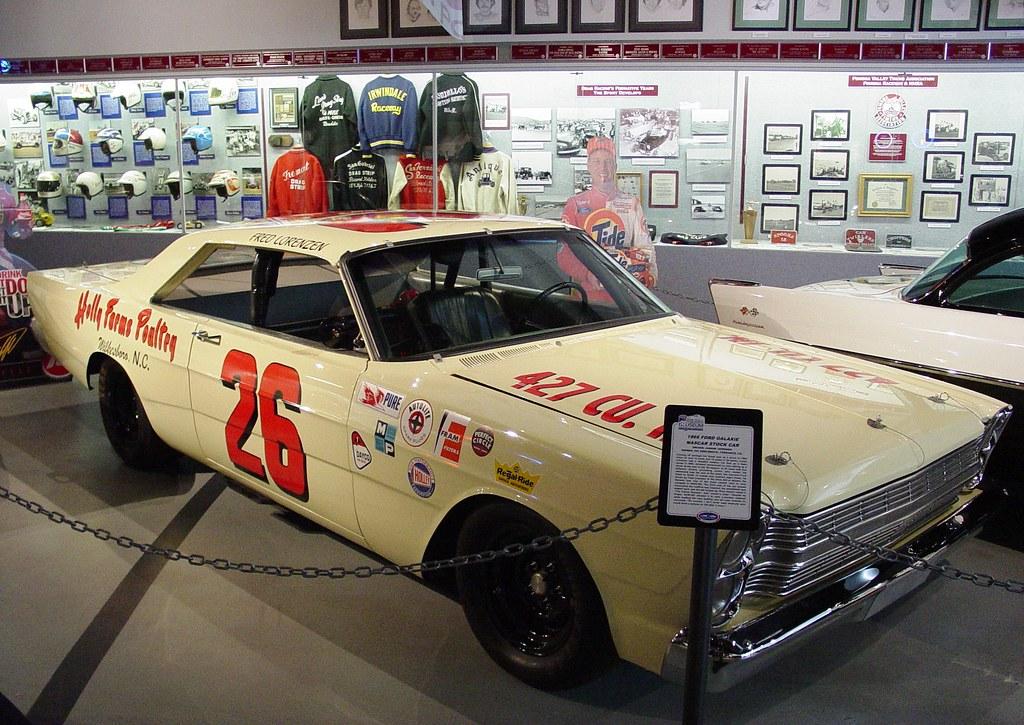 1966 Ford Galaxie Nascar Stock Car Wally Parks Nhra Motors