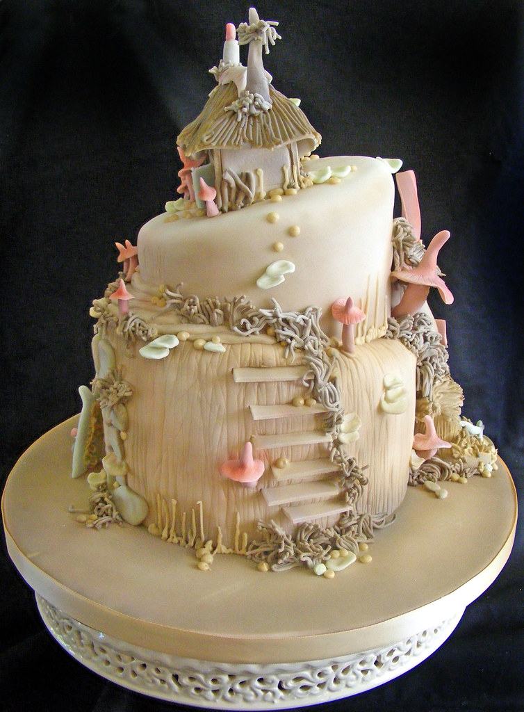 fairytale wedding cakes pictures pixie cake this cake was based on some models the 14106