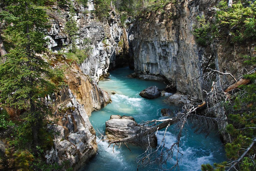 Marble Canyon Kootenay National Park Day 6 Back Down