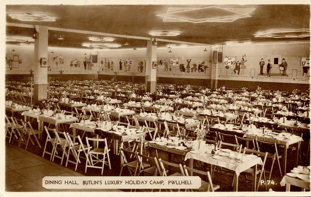 Butlins Pwllheli Dining Room Trainsandstuff Flickr