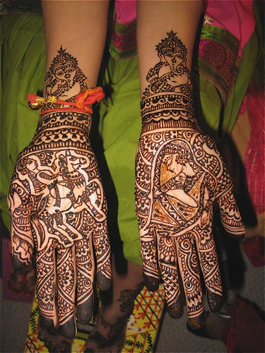 Mehndi Designs Dulha Dulhan : Dulha dulhan mehndi hands flickr photo sharing