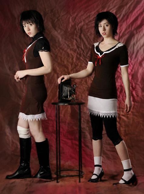 The Camera Obscura | My Mio and Mayu Fatal Frame 2 Cosplay. … | Flickr