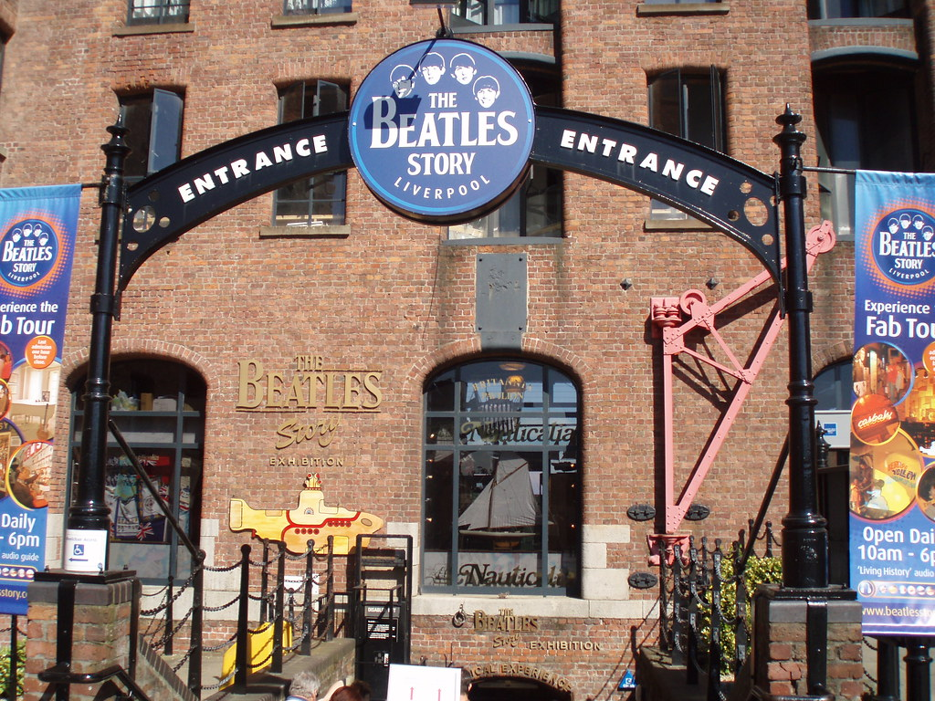 The Beatles Story Museum - Liverpool | This is the entrance … | Flickr
