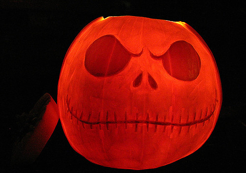 Jack the pumpkin king carving
