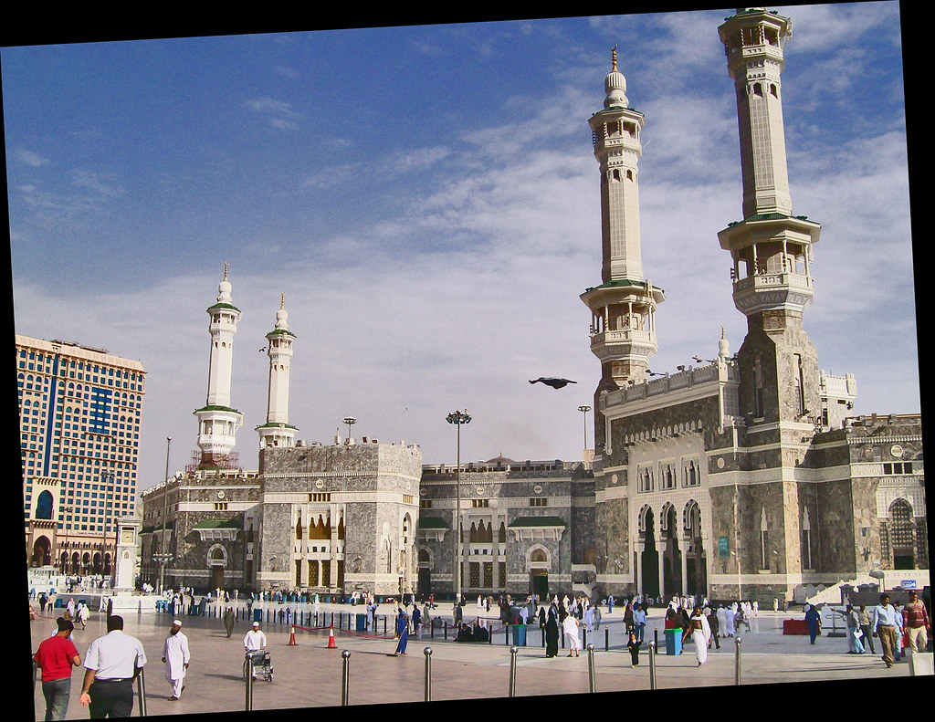 Masjid al Haram Gates | Two of the gates of the Masjid al ...