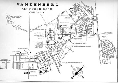 Vandenberg Afb Map 1968 Flickr Photo Sharing