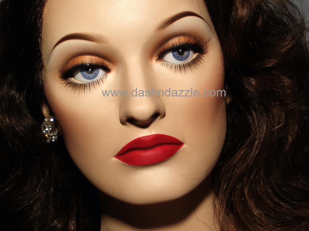 Bette Davis Eye Color Mannequin Dashndazzle Flickr