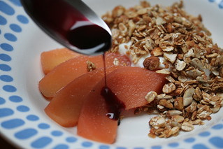 quince and granola | by David Lebovitz