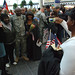 100 Indiana Guard Soldiers return to Indianapolis airport