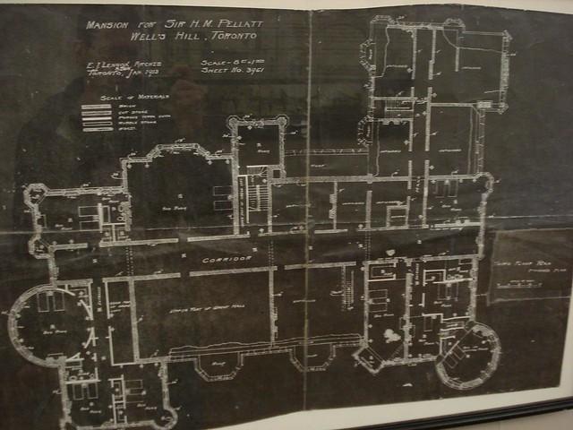 Casa Loma Blueprints Mark Blevis Flickr