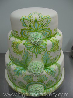 paisley wedding cake | by Karen Portaleo