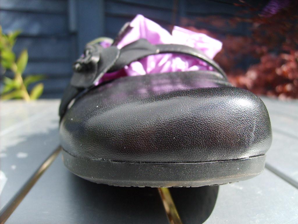 Black Steel Toe Shoes For Mens