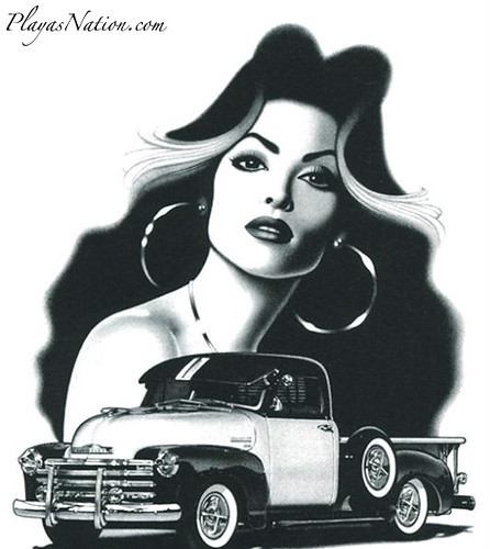 Soy Chicana | PlayasNation.com Urban Social Network Got to b ... Mexican Drawings Chola