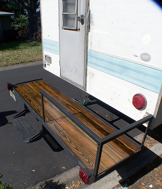 Camper Deck By R Whedon My Waste Vegetable Oil Fueled