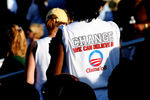 obama rally 8-29-08 | by pepperpaints