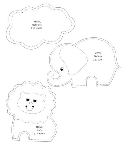 molde do m bile de animais e arcoiris ii alessandra azevedo flickr. Black Bedroom Furniture Sets. Home Design Ideas