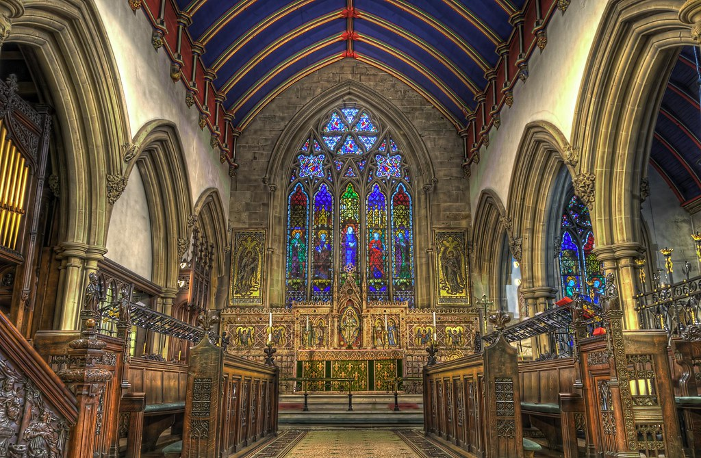 St Mark S Chancel St Mark S Church Worsley Nr