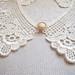 handmade lace collar