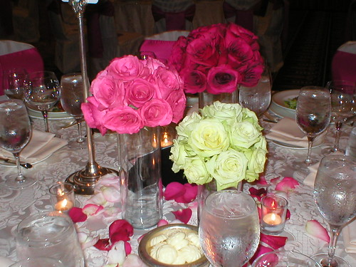 Rose ball centerpieces flickr photo sharing