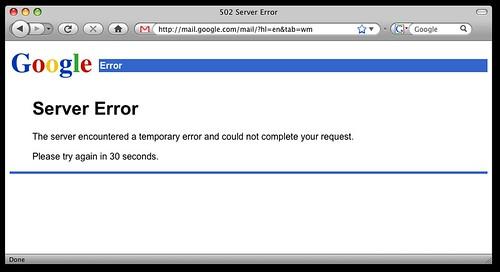 Google Server Images Google Server Error   by