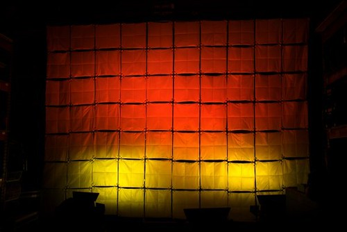 The pillow wall with led lighting | by pda.stage